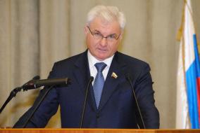 По традиции работу съезда открыл президент АККОР Владимир Плотников