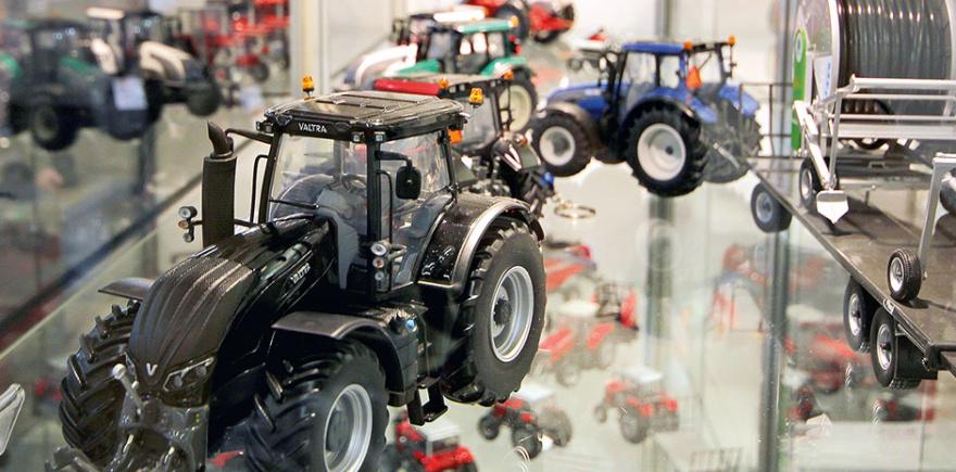Другой масштаб - масштабные модели сельхозтехники
