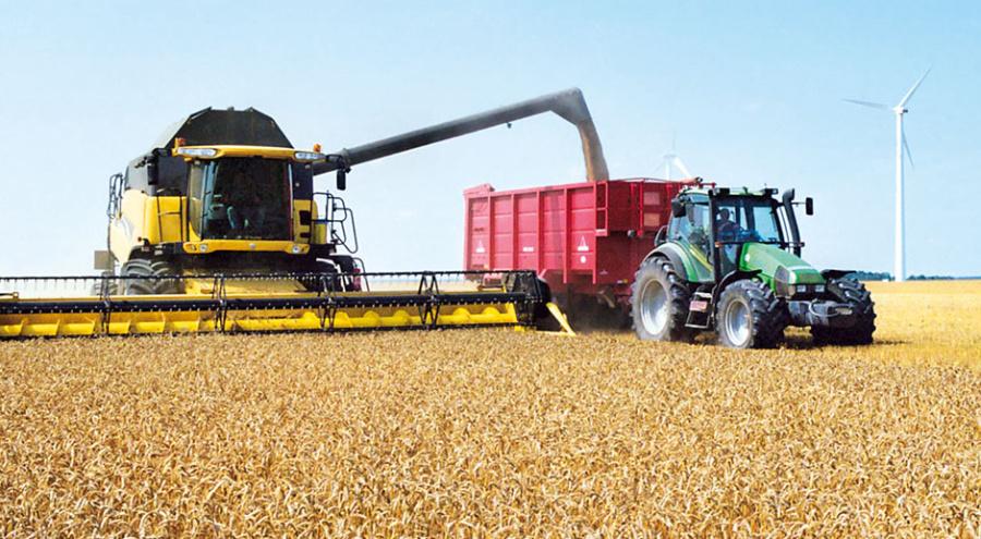 Технология уборки зерновых культур - Битва за урожай