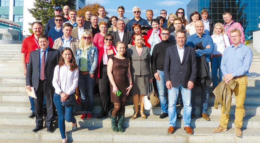 Участники форума по питанию и защите растений в Одессе