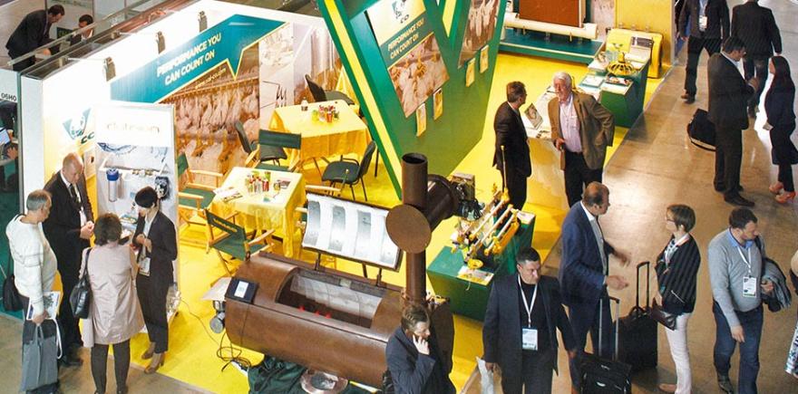 VIV Russia всегда отличалась яркостью экспозиций. Но оживленность выставке придает активность экспонентов и посетителей-профессионалов. @ Фото: «Асти Групп»