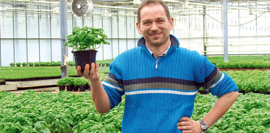 Ян Вилль доволен гибкостью предприятия, достигнутой за счет экологического земледелия. Это позволяет позиционировать продукцию как органическую, так и традиционную. @ Фото: Hormes